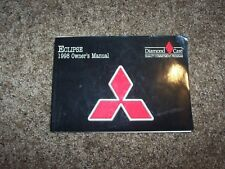 1998 Mitsubishi Eclipse RS GS GS-T GS-X 2.0L 4Cyl User Guide Owner Manual