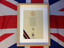 Royal Anglian Regiment Oath Of Allegiance Cap Badge And Sovereign's Shilling