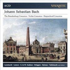Bach: The Brandenburg Concertos / Violin Concertos / Harpsichord Concertos, New