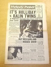 MELODY MAKER 1958 SEPTEMBER 13 WILDE-KENNEY JAZZ BIG BAND SWING