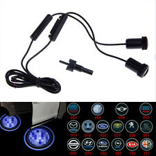 2X CREE Car Logo Door Decoration Light Ghost Shadow LED Welcome Laser Projector