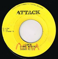 "attack 7"" : TOMMY McCOOK & BOBBY ELLIS-canon / U Rpoy-wake the nation  (hear)"