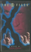 the X FILES colony  episodio 4 i file segreti vhs ITA scatolato xfile