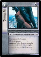 LOTR Lord of the Rings TCG The Hunters Aragorn's Bow Ranger's Longbow 15R56 NM/M