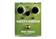 New Dunlop Way Huge WHE202 Green Rhino Overdrive Guitar Effect Pedal WHE-202