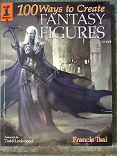 100 Ways to Create Fantasy Figures Nr MINT FANTASY ART BOOK FRANCIS TSAI