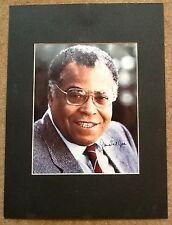 STAR WARS DARTH VADER Voice James Earl Jones Hand Signed Mount Display Rare Item