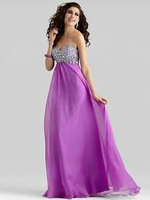 1179 CLARISSE 2306 ORCHID SZ 8 $298 FORMAL   PAGEANT PROM GOWN DRESS