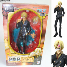 [USED] P.O.P Sailing Again Sanji One Piece Figure MegaHouse Japan