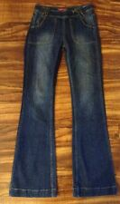 SUPER SEXY HIPSTER Womens FOREVER 21 Jeans FLARE SZ 27(W28 L33.5) EUC! FREE SHIP