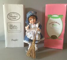 Paradise Galleries 7Days of the Week Doll Saturday's Child Has To Work  8""