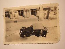 Auto - Oldtimer von oben / Foto