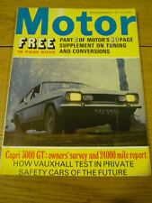 MOTOR 13.3.71 FORD CAPRI 300GT 24000 MILE TEST jm