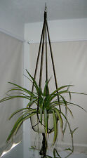 New Plant Hanger 60 inches ( 5 feet ) Brown 6mm Macrame cord Handmade