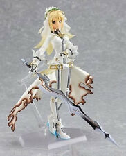 "New Anime Figma Fate Wedding Saber Lily Princess 5.5"" CHN Ver. PVC Action Figure"