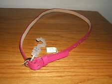 New York & Co. Rose Pink Leather Beaded Ladies Belt Size M/L (New)