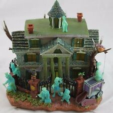 Disney Haunted Mansion Light-Up House with Hitchhiking Ghosts Glow in the Dark