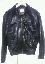 LEVIS LVC LEATHER JACKET, SMALL, MADE IN ITALY