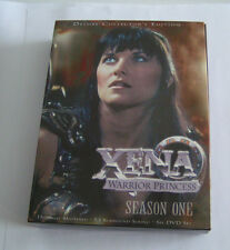 XENA WARRIOR PRINCESS SEASON ONE DELUXE EDITION DVD ADULT OWNED FREE SHIPPING