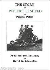 The Story Of Petter's Ltd. Petter Stationary Engine History Book, Petter Engine