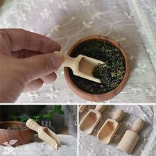Mini Handmade Wooden Spoon Tea Sugar Salt & Scented Tea Multi Use Spoon High Qua
