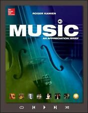 Music : An Appreciation by Roger Kamien (2014, Paperback, 8th Edition)