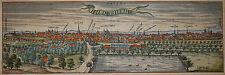Hildesheim-Marrone e Hogenberg-ORIGINALE di 1580