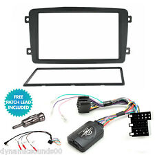 Mercedes C Class W203 Double Din Car Stereo Fascia Fitting Kit, Steering Control