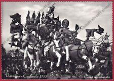 LUCCA VIAREGGIO 113 CARNEVALE 1953 Cartolina FOTOGRAFICA Fotografo MAGRINI