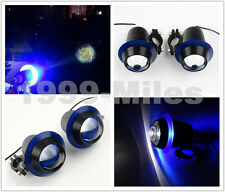 Cree LED High/Low Beam Headlight Fog Light Driving For Harley Crash Bar Custom