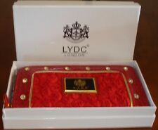 LYDC Designer Moc Croc Clutch/Purse with Gift Box - Christmas Gift Idea