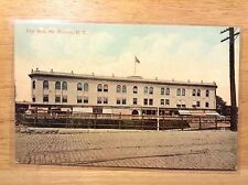 City Hall Mt Vernon NY Vintage Postcard Westchester County New York History Old