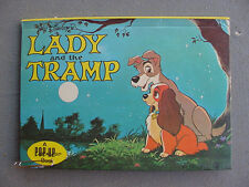DISNEY RARE 1970 LADY AND THE TRAMP  POP-UP BOOK