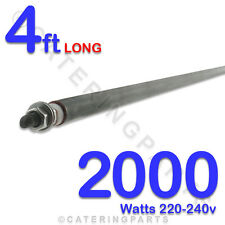 """HE4820 48"""" 4 foot 1220mm 2000w 2Kw  HEATING ELEMENTS 220-240v UNIVERSAL ROD TYPE"""