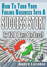 How to Turn Your Failing Business into a Success Story in 120 Days or Less!...