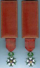 Médaille en variante - Légion d'honneur III° république boîte FONTANEL à Lyon