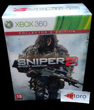 SNIPER 2 GHOST WARRIOR Collector's Edition Xbox 360 PAL-España NEW Nuevo xbox360