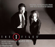 THE X-FILES Volume Two 4-CD Box Set MARK SNOW La-La Land TV Soundtrack LTD EDN!
