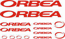 KIT- PEGATINAS - STICKERS - VINILO - BICICLETA- BIKE- ORBEA STICKER - BICI