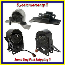 Engine Motor & Trans Mount Set 4PCS for 04-06 Nissan Maxima 3.5 Auto with Sensor