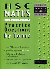 HSC Maths Extension 1 Practice Questions YEAR 12