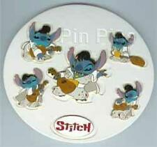 Disney Stitch as Elvis 6 Pin Set Pin