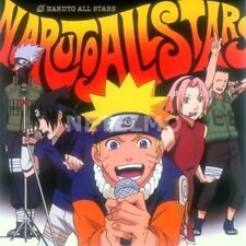 New 0980 NARUTO All Stars Original Soundtrack Music CD O.S.T. Japan