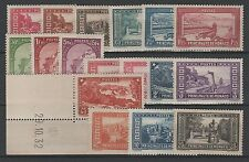 """MONACO STAMP N° 119 / 134 """" SERIE PAYSAGES 17 TIMBRES """" NEUFS xx TTB/SUP K771"""