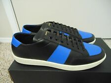 $405 SHIPPED SAINT LAURENT SL/01 Royal Low Top Court Sneakers blue Eu 44 US 11