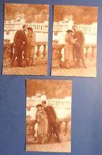 LOTTO 3 CARTOLINE - FOTO FIDANZATI ANNI '20