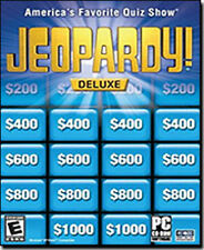 JEOPARDY DELUXE  Brand New Sealed PC Game  XP Vista 7