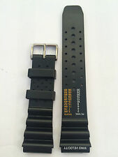 CINTURINO compatibile SEIKO CITIZEN ACQUALAND STRAP PLASTICA BAND 22 MM CTC56