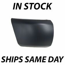 NEW Primered- Passengers Front Right RH Bumper End Cap 2007-2013 Chevy Silverado
