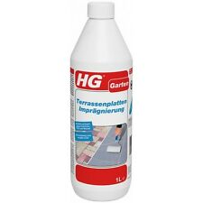 HG 1 Liter Terrassenplatten Imprägnierung Steinfliesen Naturstein UV-beständig